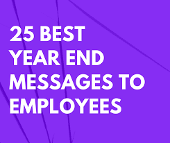 best year end messages to employees com
