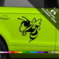Hornet Car Vinyl Decal Honey Bee Window Or Bumper Vinyl Etsy
