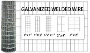 Galvanized Welded Wire 1in X 1in Academy Fence Company Nj Pa Ny