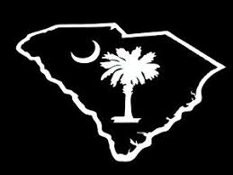State Of Sc South Carolina Palmetto Palm Tree Vinyl Decal Car Window Truck 76003 Ebay