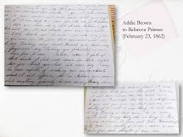 The Love Letters of Rebecca Primus and Addie Brown, 1854-1868 ...