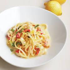 Linguine with Crab and White Wine ...