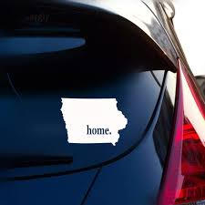 Amazon Com Dkisee Stickers Iowa Home State Originality Vinyl Decal Car Sticker Car Styling For Car Laptop Window Sticker 7 Inches Home Improvement