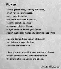 arthur rimbaud poems