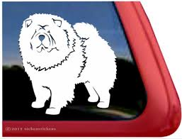 Chow Chow Decals Stickers Nickerstickers
