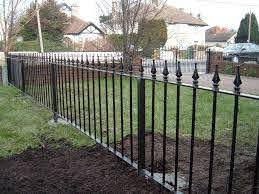 Wrought Iron Fence Cost Estimator Oscarsplace Furniture Ideas Decorative Rod Iron Fence Ideas
