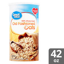 great value old fashioned oats 42 oz