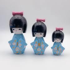 Mới 1 Bộ HANDMADE Dễ Thương Nhật Bản Nước Hoa Nữ Kokeshi Bé Gái Mận Họa  Tiết Búp Bê Gỗ Hot Quà Tặng|gift gifts|gift girlgift cute - AliExpress