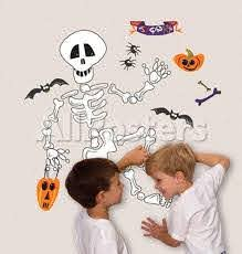 Build A Skeleton Wall Decal Allposters Com