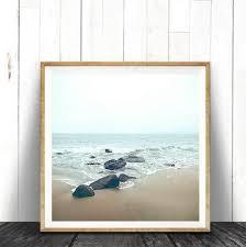 beach wall art print ocean water