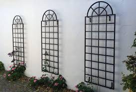 orangery trellis iron wall trellis to