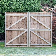 Feather Edged Driveway Gates Buy Gates Online Uk Delivery