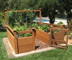 raised bed garden designs 745646
