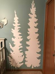 Tree Wall Decal Home Wall Decal Children Room Wall Decal Tree Silhouette Wall Sticker
