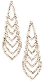 nina crystal chandelier earrings 40