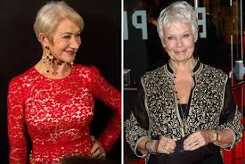 Hellen Mirren Judi Dench Ctr Husband ...