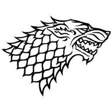 House Stark Direwolf Game Of Thrones Decal Vinyl Car Laptop Window Wall Sticker Ebay Car Decal Direwolf In 2020 Game Of Thrones Tattoo Gaming Tattoo House Stark