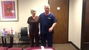 Houston Chiropractor Dr Gregory Johnson Adjusting Renae At ...