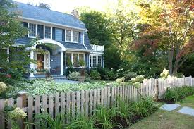 Rustic Picket Fence Houzz