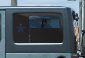 Texas Flag Decal Fits Jku Jeep Wrangler 4 Door American Wrangler Window Sh1 Ebay