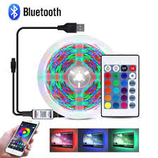 Nguồn 5V USB Đèn LED Dây 2835 SMD LED RGB Dưới Tủ Đèn HDTV TV Máy Tính Màn  Hình Đèn Nền tủ Quần Áo Nhà Bếp Chiếu Sáng|