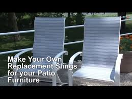 sling cover for patio furniture