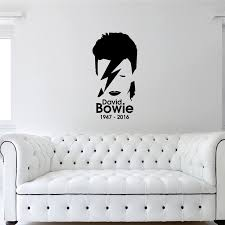 David Bowie Wall Sticker Music Wall Decal Child Guest Room Home Decor Vinyl Sticker Home Decor Art Decor Wall Sticker J347 Wall Stickers Aliexpress