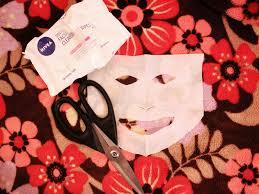 create diy summer sheet masks nivea