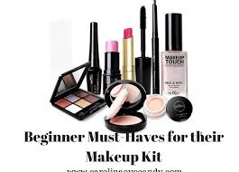 must haves for their makeup kit