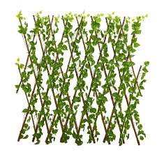 Nearly Natural Indoor Outdoor 47 In Pothos Expandable Fence Uv Resistant Waterproof 4256 The Home Depot