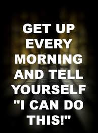 Get up every morning... | Fitness quotes, Motivation