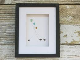 sea glass art pebble art pebble art