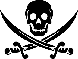 Pirate Swords Vinyl Decal Decals N More