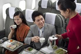 """Cà phê hòa tan Vinacafé """"bay"""" cùng Vietnam Airlines   Báo Dân trí"""