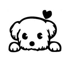 Black Sliver Funny Baby Pet Cute Dog Cartoon Window Decals Animal Car Sticker Accessories C130 Car Stickers Aliexpress