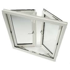 rectangular hinged upvc windows frame