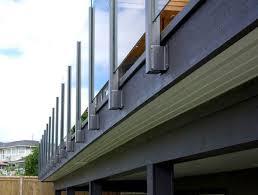 panorama post glass railing