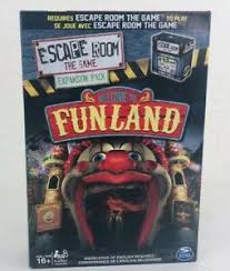 Escape Room The Game Welcome To Funland Expansion Pack Kids Toy Board Game Ebay