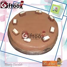 bounty chocolate cake la cafe send