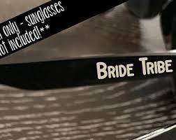 Bride Tribe Sticker Etsy