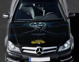 Batman Hood Decal Etsy