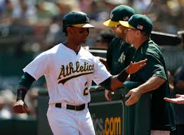 A's Khris Davis becoming the new face of Oakland – East Bay Times