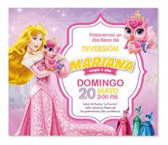 Invitacion Digital Disney Princesa Aurora Nuevo Diseno 65 00