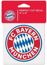 Amazon Com Wincraft Fc Bayern Munchen Perfect Cut Die Cut Decal 4 X 4 Decals Sports Outdoors