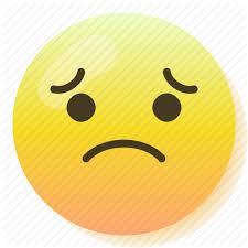emoji emoticon regret sad smile