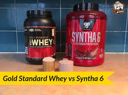 syntha 6 vs gold standard whey 2019