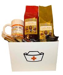 gift basket for a rn coffee basket