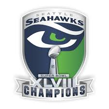 Seattle Seahawks Champion Superbowl Xlviii Die Cut Decal