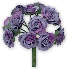 Paper Flowers - Sonia Rose (Lavender Blue): Amazon.co.uk: Kitchen & Home
