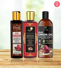 10 best onion oils for hair growth that